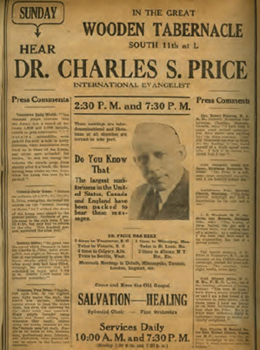 03 Dr Charles S Price Newspaper