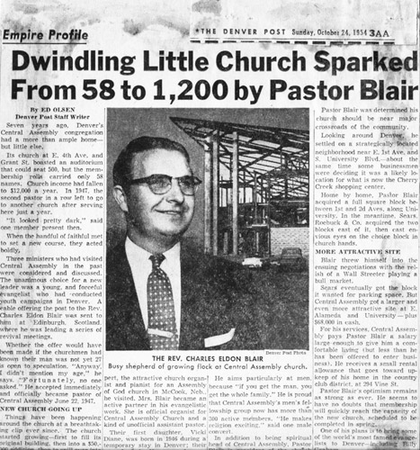 04 Charles E Blair Expanding Church 1954