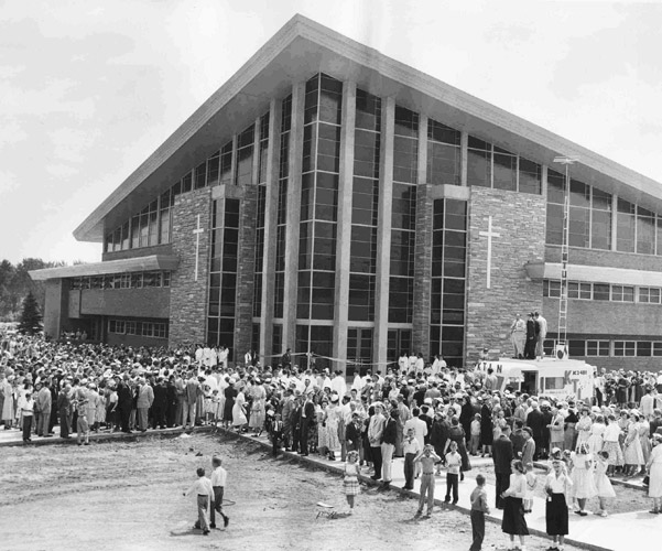 05 Charles E Blair Calvary Temple Dedication 1954