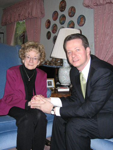 05 Eunice Trulin and Pastor Stephane Chauvette 2006