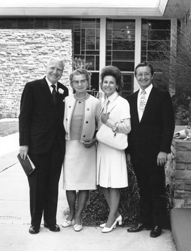 11 Charles E Blair with J Sidlow Baxter and wives