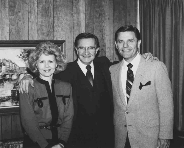 12 Charles E Blair with Gloria and Kenneth Copeland