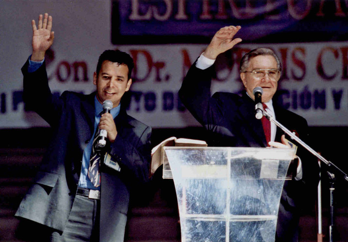 23 Charles E Blair at Morris Cerullo School of Ministry